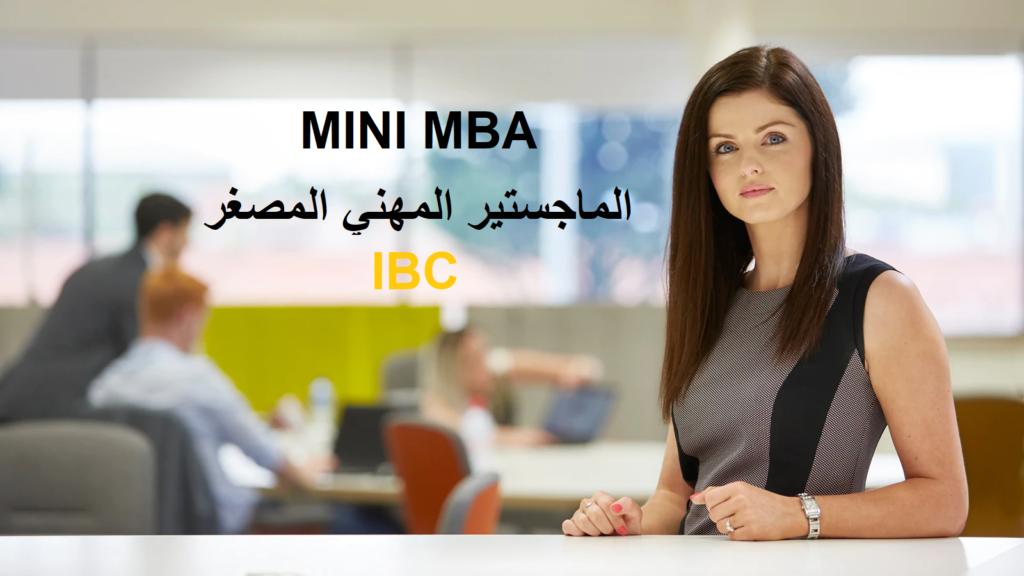 MINI MBA - IBC